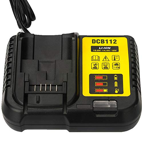 DCB105 DCB112 Battery Charger For DeWalt 12-Volt MAX/20-Volt MAX Lithium-Ion DCB107 DCB101 DCB200 DCB140 DCB200 battery charger LPD