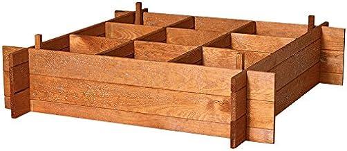 Catral 75010001 - Huerto urbano Seed 100, 20 x 100 x 100 cm, madera de pino: Amazon.es: Jardín