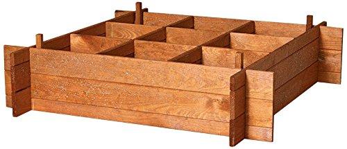 Catral 75010001 - Huerto urbano Seed 100, 20 x 100 x 100 cm, madera de pino