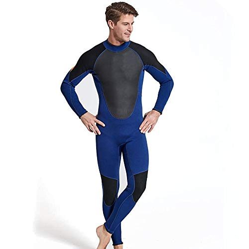 NCBH Wetsuit Mannen Duurzame Zwemkleding Comfortabele Hoge Elasticiteit Slim Fit Surf Kleding Koude Weerstand Zonnebrandcrème Outdoor Duiken pak 3MM