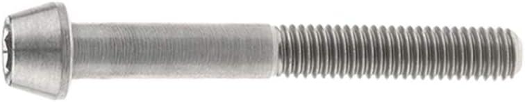 Yaruijia Bullone in titanio per bicicletta DIN912 M5x9 15 16 18 20 25 30 35 40 45 50 55 60 mm testa conica esagonale viti passo 0,8 mm M5x9mm, arcobaleno
