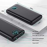 Zoom IMG-1 iposible power bank 30800mah 25w