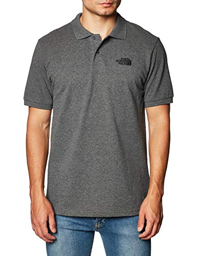 North Face T0CG71LXS. S Polo Homme, Gris, FR : S (Taille Fabricant : S)