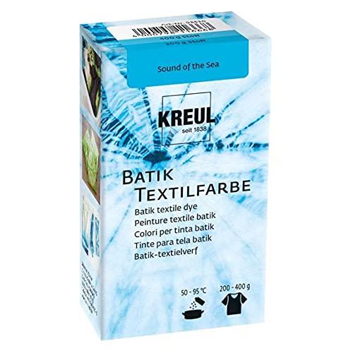 Kreul 98530 - Batik-Textilfarbe Sound of the Sea, 70 g, Farbpulver zum Batiken und Färben von Textilien