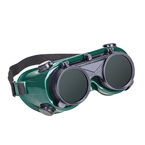SOIMISS Zonnebril Unisex Eclipse Brillen voor Grote Amerikaanse Totale Zonsverduistering Shades Augustus 21 2017 Kan ook gebruiken als Lassen Veiligheid Flip Up Goggles Oogbescherming Bril