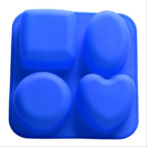 FENXIMEI Creatieve Ice Cube Mold Magnetron Oven Bakken Chocolade maken Koekje Gereedschap Voor Cupcakes, Muffins, Zeep en Brownies Hond Bones Nordic Ware