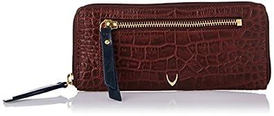 Hidesign EOSS Red & Blue Leather Women's Wallet