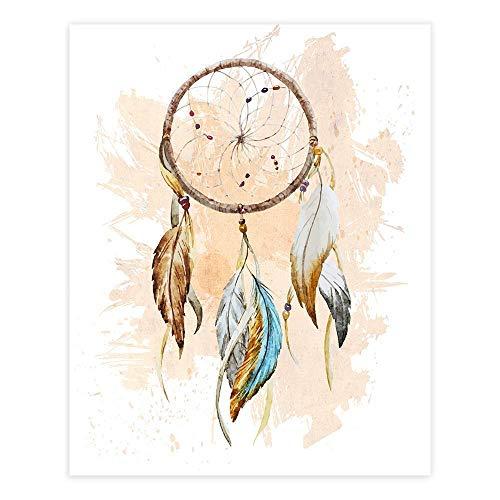Dreamcatcher Wall Art Print - Unframed - 8x10   Native American Decor