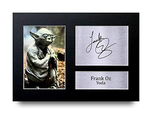 HWC Trading Frank Oz A4 Ungerahmt Signiert Gedruckt Autogramme Bild Druck-Fotoanzeige Geschenk Für Star Wars Yoda Filmfans