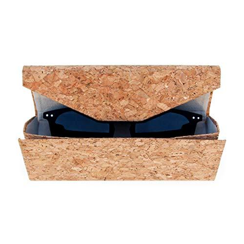 Good Design Works Kork Sonnenbrillen-Etui | Umweltfreundliches Brillenetui | Schutz-Etui für Brillen aus Kork