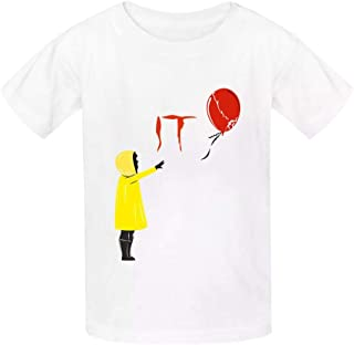 HRZGJ Juv-en-Tus Childrens Lightweight 100/% Cotton Short-Sleeved T-Shirt L Black