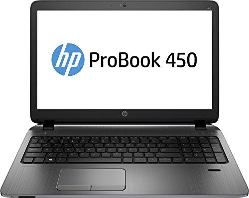 HP ProBook 450 G2 (L8A08EA) 39,6 cm (15,6 Zoll Mattes FHD-Display) Business Laptop (Intel Core i5 5200U, 2,2GHz, 4GB RAM, 128GB SSD, Win 8 Pro 64) schwarz