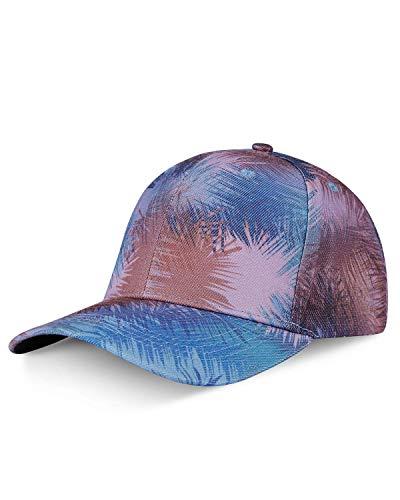 LIVACASA Cappello da Baseball con Visiera Uomo Donna Estivo Protezione UV per Sport Capello Sport Berretto Traspirante Regolabile 54-64CM