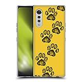 Head Case Designs Licenciado Oficialmente Marta Olga Klara Mok Lindas Patas Gráficos Carcasa de Gel de Silicona Compatible con LG Velvet / 5G