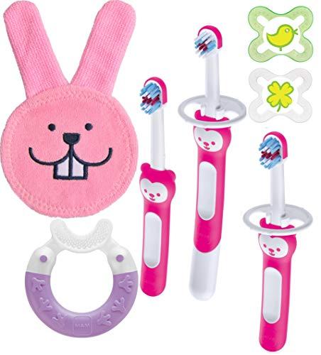 MAM Oral Care Set/Zahnpflege Set, für Mädchen