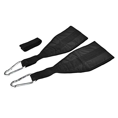 Hancend 1 Paar Polyester Fitness Hängegürtel Bauchmuskeltraining Sling Straps für Klimmzugstange