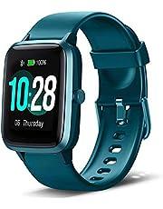 """Smartwatch, Fitness Tracker IP68 Waterdicht Heren Dames Kinderen 1,3 """"Touchscreen Activity Tracker met Hartslag- / Slaapmonitor Stappenteller Stappenteller Calorieteller Stopwatch SMS-melding voor IOS Android"""