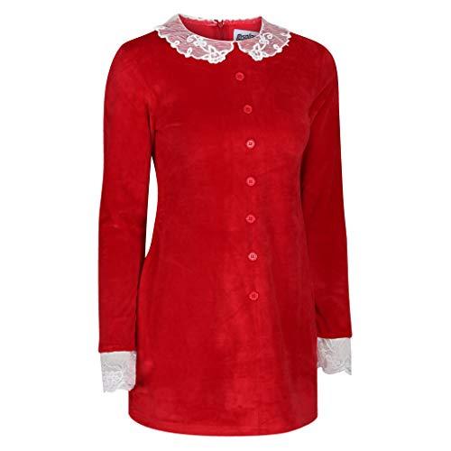 Sabrina Spellman vestido (US 8, rojo), rojo, talla 12.0