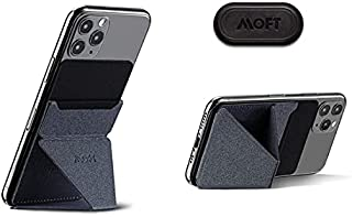 MOFT X スマホ スタンド iPhone カバー スマホホルダー iPhone11 iPhoneX (Space Grey)
