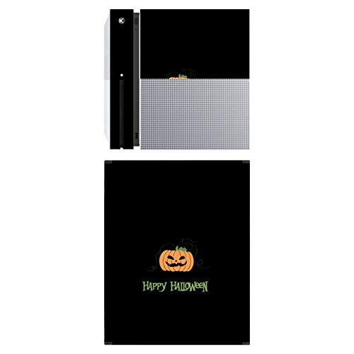 Disagu SF-sdi-5164_1220 Design Schutzfolie für Microsoft Xbox One S stehend Motiv Halloween Pumpkin 02