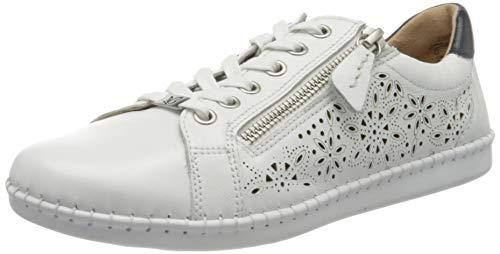 CAPRICE Damen Inna Sneaker, Weiß, 40 EU