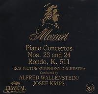 Piano Concertos 23 (K.488) & 24 (K.491); Rondo (K.511) by Mozart