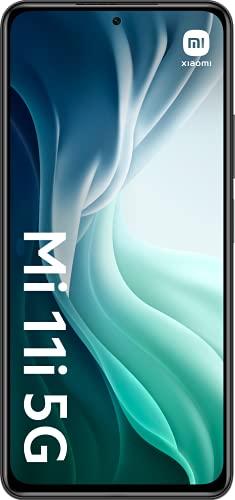 Xiaomi Mi 11i 5G - Smartphone 6.67'' (WiFi, Bluetooth 4.0, Qualcomm Snapdragon 888 2.84GHz, 128 GB de memoria interna, 8 GB de RAM, cámara de 108 MP), Negro [Versión ES/PT]