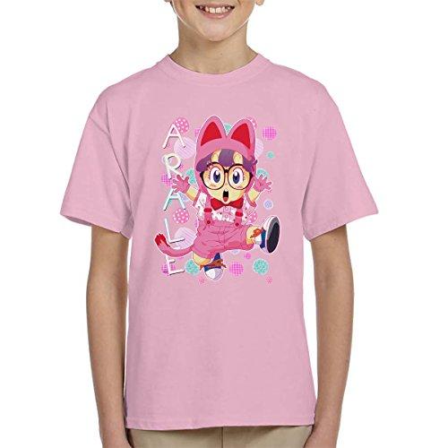 Arale Norimaki Cat Maglia Dr Slump Kid's T-Shirt