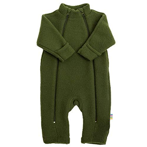 Joha Baby Mädchen Jungen Wagenanzug Merino-Wolle, Größe:56/62, Farbe:Bottle Green  + weitere Größen