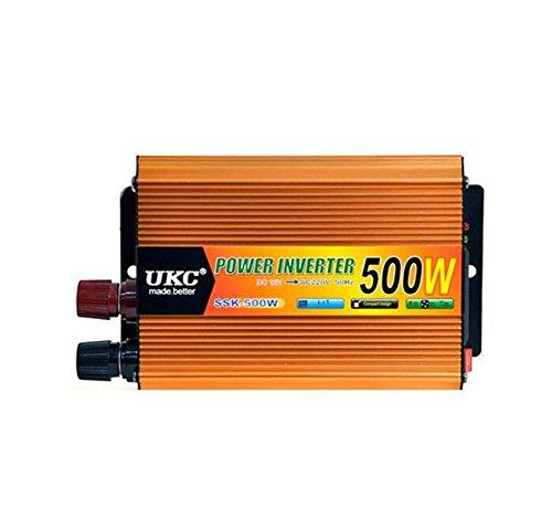 Convertisseur KDLD DC 12V à AC220-230V de Puissance d'inverseur de Puissance de 500 W d'automobile a Un Port d'USB 4.2A pour des Ordinateurs Portables, des comprimés et des téléphones