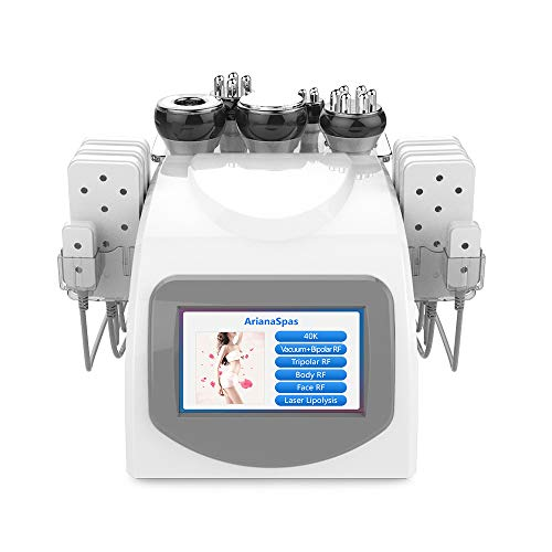 ArianaSpas 6 in 1 RF Multi-Function - Face & Body Treatment Device Machine [US Warranty & US Based Tech Support]