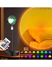 LONENESSL Sunset Lamp Projection Led Light,Night Light Projector Led Lamp, Romantic Projector for Home Party Living Room Bedroom Decor