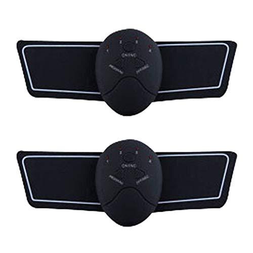 LOVIVER 2x Estimulador Muscular Ab Toner Belt Arm Toning Fitness Training Workout Equipment