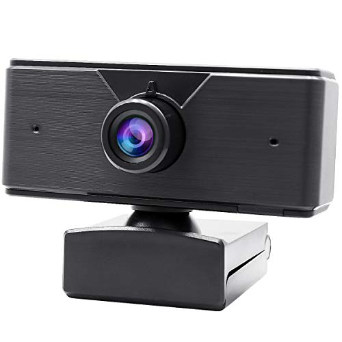 AQHQUA Auto Focus HD 1080P Webcam with Microphone, USB Web Camera Computer Webcam for PC Mac Laptop Desktop Video Calling Conferencing Recording Online Teaching, Wide Angle Lens, Plug & Play