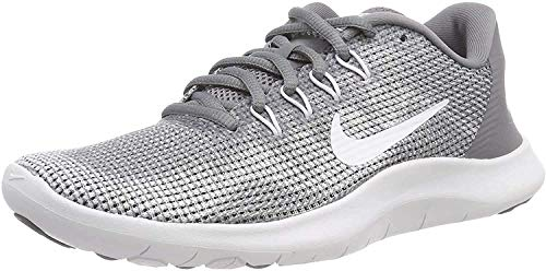 Nike Women's Flex 2018 Rn Competition Running Shoes, Grey (Cool Grey/White 010), 4.5 UK