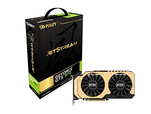 Palit NE5X970H16G2J Jetstream NVIDIA GTX970 Grafikkarte (PCI-e , 4GB GDDR5, DVI, HDMI, 2x Display Port)