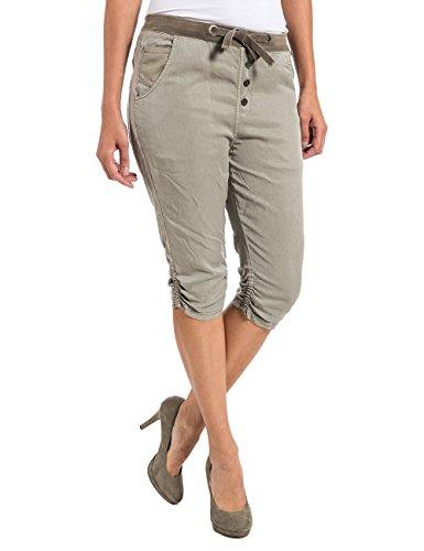 Timezone Damen LouTZ 3/4 Pants Short, Beige (Nature beige 6122), 32 (Herstellergröße: XS)