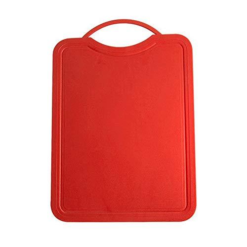 CttiuliZhb tabla de cortar, Corte de la cocina de plástico Tabla de cortar antideslizante fruta del corte Junta Accesorios cocina (Color : 2)