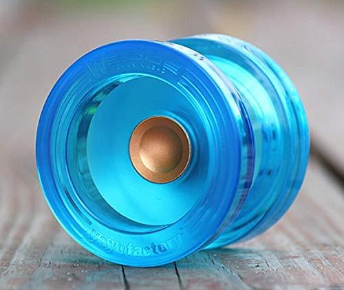PC-Version YOYO Gummi yoyo Professional 1A POM yo-yo (Farbe: Blau und Gold), yo-yos Tricks