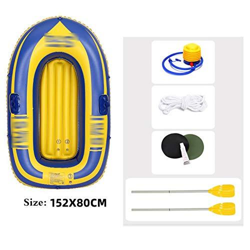 BYCDD Tabla de Paddle Surf Hinchable, Individual portátil Kayak Hinchable para el Principiante y Profesional Stand up Paddle Board,A_152X80CM