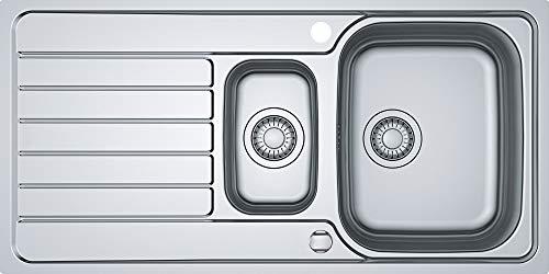 Franke Spark SKX 251 Edelstahlspüle glatt Küchenspüle Einbauspüle Drehknopfventil
