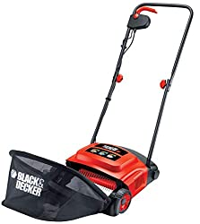 Powerful 600 W motor 30 cm raking width suitable for medium garden 3 raking heights for year round maintenance Large capacity front loading grass box for easy collection and disposal .Uses -sweeping, scarifying and raking unwanted thatch, moss and ga...