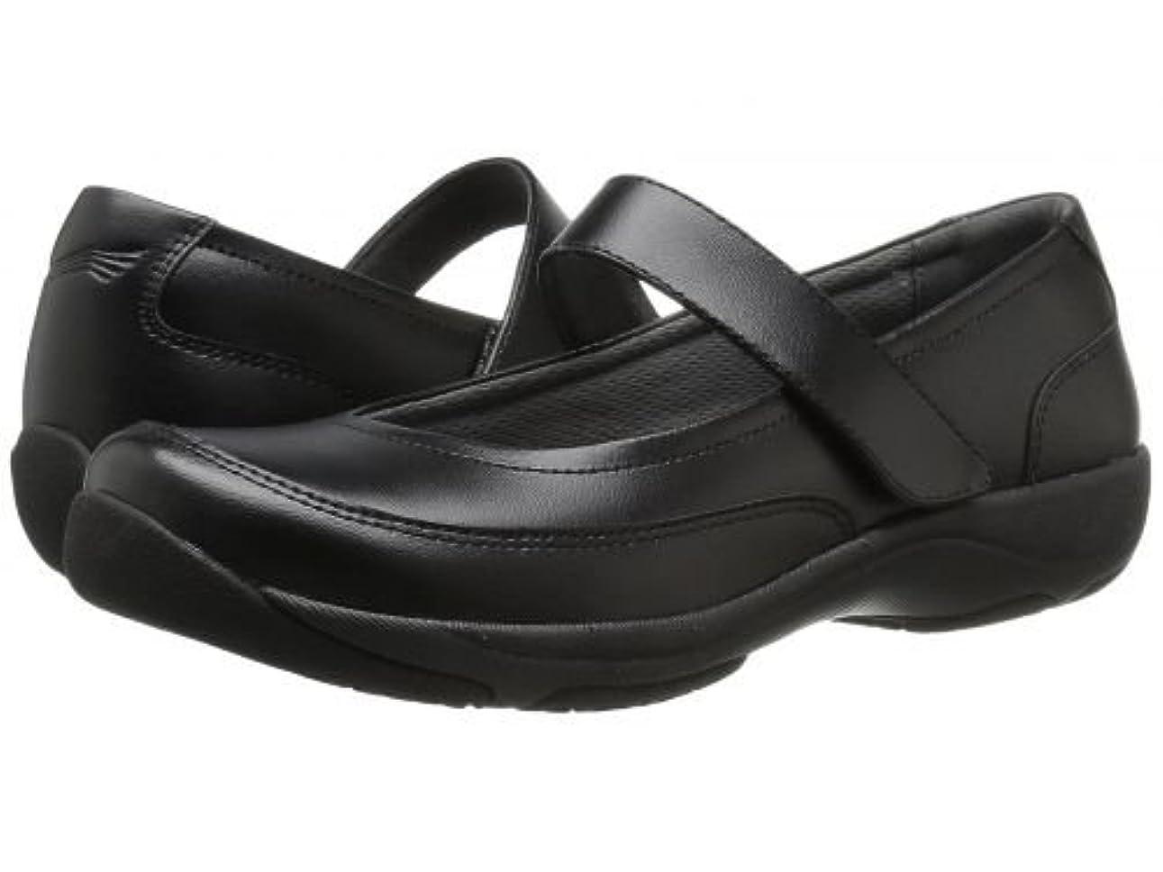 エミュレートするめるスナップ[ダンスコ] レディース 女性用 シューズ 靴 フラット Edith - Black Leather [並行輸入品]