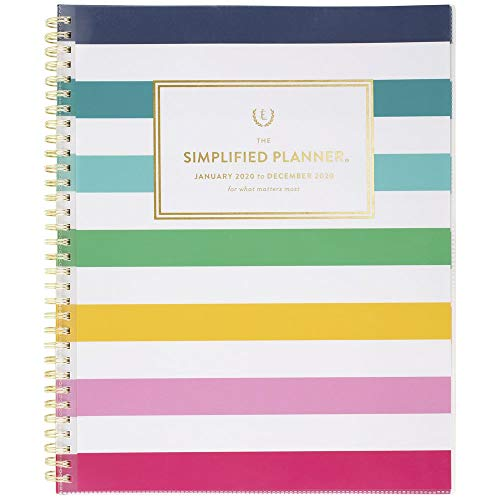 "Simplified by Emily Ley 2020 Weekly & Monthly Planner, 8-1/2"" x 11"