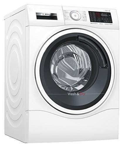 Bosch Elettrodomestici Serie 6 WDU28540IT lavasciuga Caricamento frontale Libera installazione Nero, Bianco...