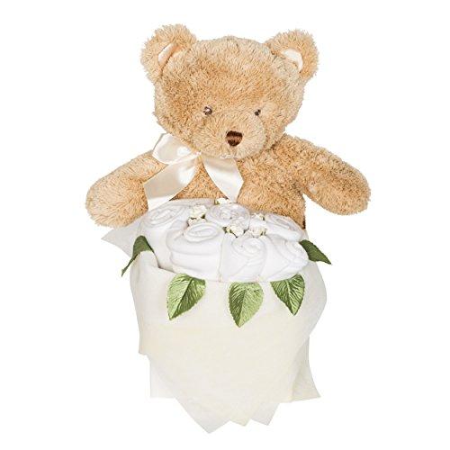 Rosebud Teddy Box – Blanc classique