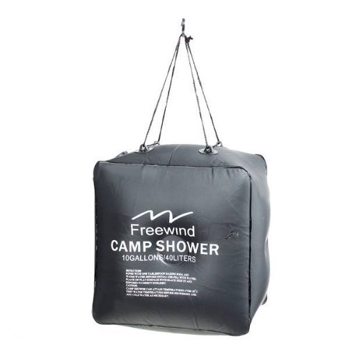IRISMARU Solar Outdoor Camping Shower Bag 40 Liters 10 Gallons