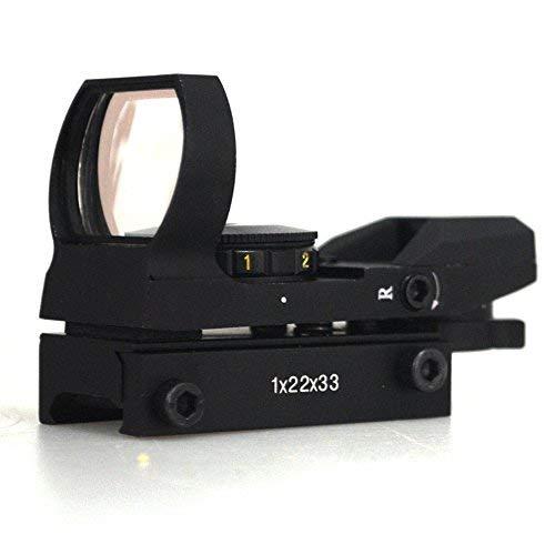 Minidiva Jagd Tactical 20mm Holographic 1x22x33 Reflex Red Grüner-Punkt-Laser-Anblick-Bereich