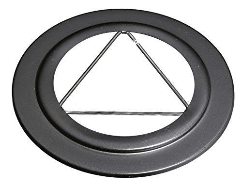 ISOTIP-JONCOUX 970045 Rosace Email, Noir, Diamètre 125