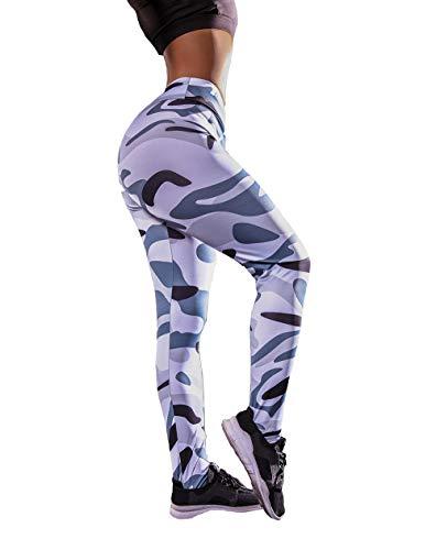 Wo nice Leggings De Mujer Levantamiento De Cadera Anti-Celulitis Squerezar Leggings Hip-Cintura Hip-Levantamiento Fitness Pantalones,B,L